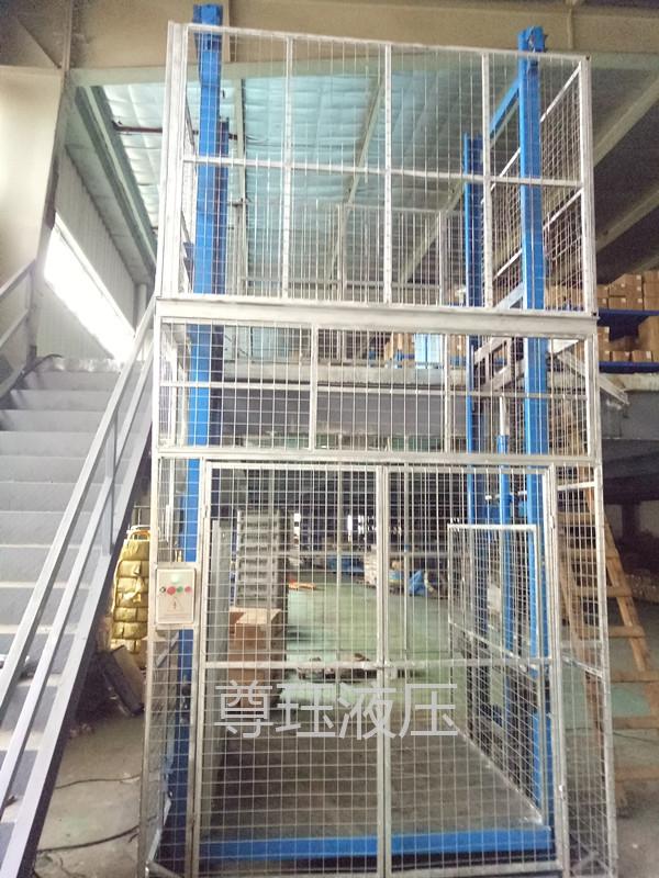 SJD2-3双轨升降货梯