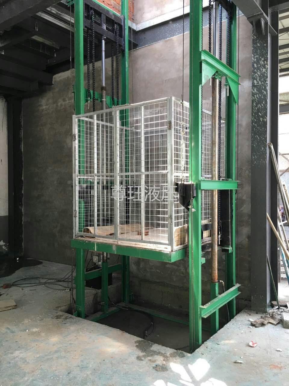 SJD1-3.5双轨升降货梯